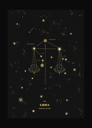 Libra Figure Constellation