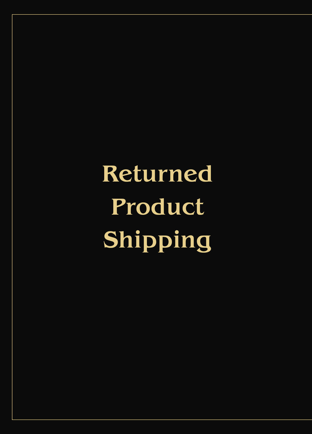 Extra product shipping