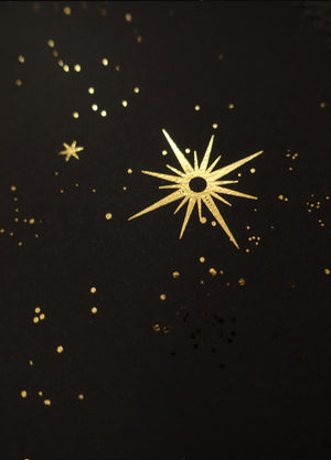 Ursa Major constellation gold foil print by Cocorrina & Co studio