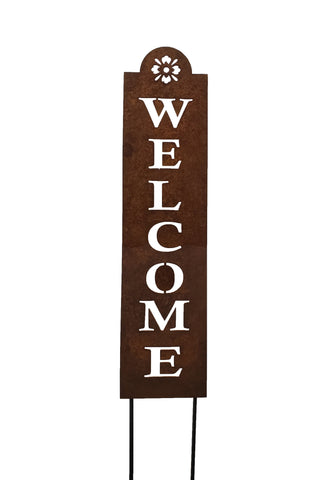 Flower Welcome Sign (24-inch)