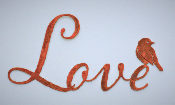 Love Word Wall Art