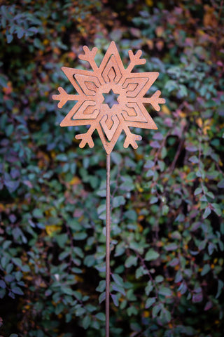 Snowflake Stake - Various Sizes Available