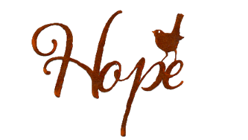 Hope Word Wall Art