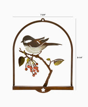 Load image into Gallery viewer, Bird on Wild Cherry 3D Wall Art