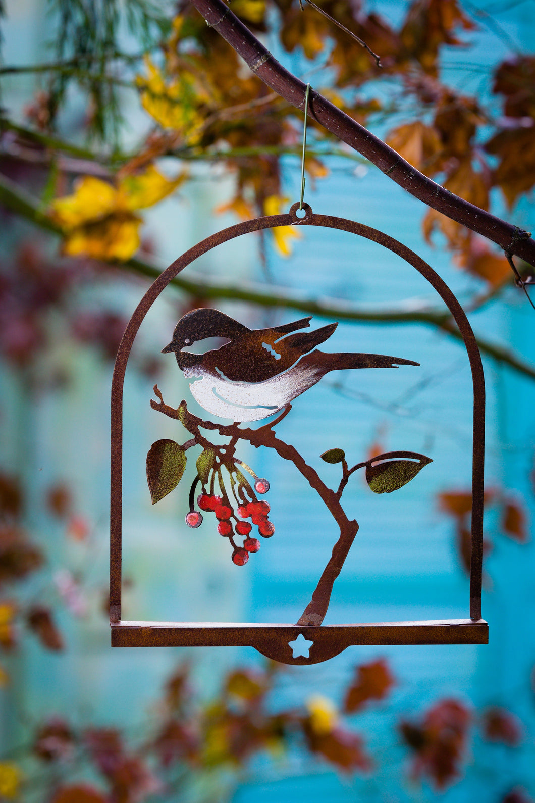 Bird on Wild Cherry 3D Wall Art