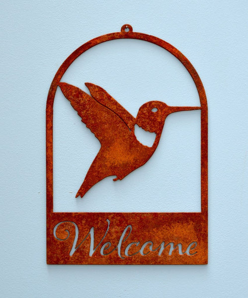 Hummingbird Roundtop Welcome
