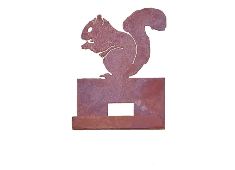 Nibbling Squirrel Card Holder