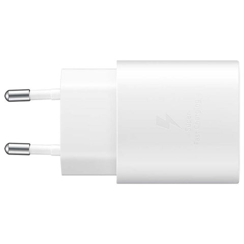 Samsung Fast Charging Adapter USB-C - 25W - Weiß, Charger for Future