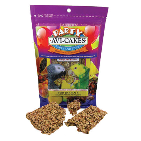 Lafeber Party Cakes! Fruit Delight Avi-Cakes for Parrots 8oz