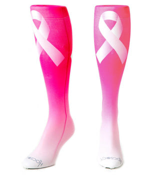 New CranBarry Pink Ribbon Hocsocx
