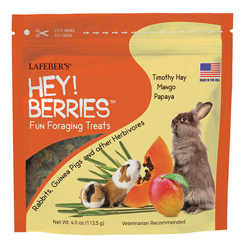 Lafeber Hey!Berries for Rabbits, Guinea Pigs & Other Herbivores