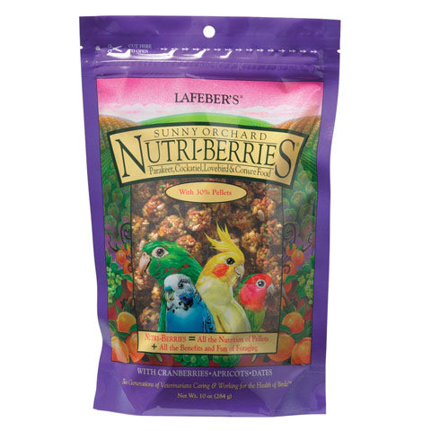 Lafeber Sunny Orchard Nutri-Berries for Cockatiels 10oz