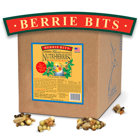 Lafeber Classic Berrie BITS! for Cockatiels and Other Small to Medium Birds