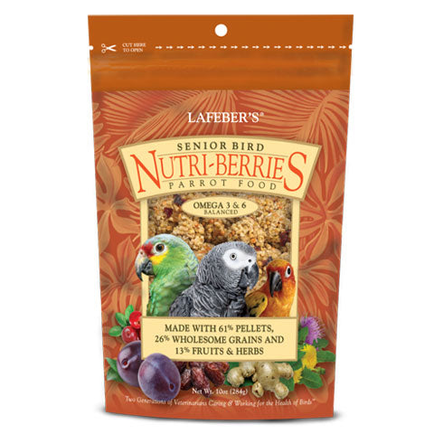 Lafeber Senior Bird Nutri-Berries for Parrot