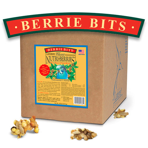 Lafeber Classic Berrie BITS! for Parakeets and Other Small Birds