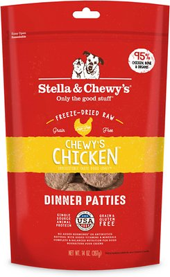 Stella And Chewy's Chewy's Chicken Freeze-Dried Raw Dinner Patties