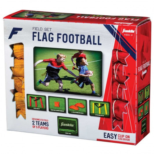 FRANKLIN 10 PLAYER YOUTH FLAG FOOTBALL SET