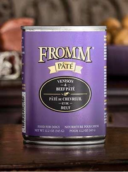 Fromm Gold Venison & Beef Pâté  Dog Food