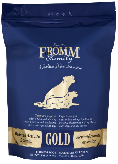 Fromm Reduced Activity & Senior Gold Dog Food