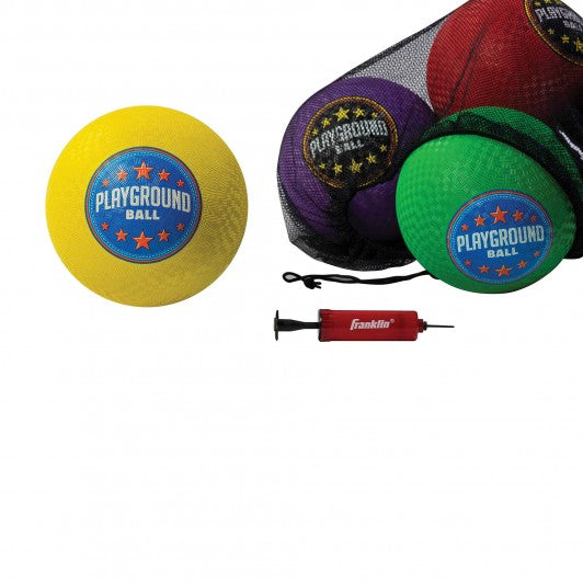 "FRANKLIN 6 PACK 8.5"" PLAYGROUND BALLS"