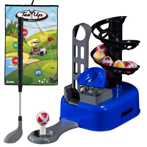 FRANKLIN KIDS INDOOR GOLF TEE AND CLUBS SET