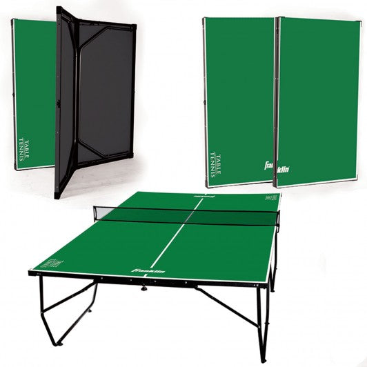 FRANKLIN 9' X 5' EASY ASSEMBLY TABLE TENNIS TABLE