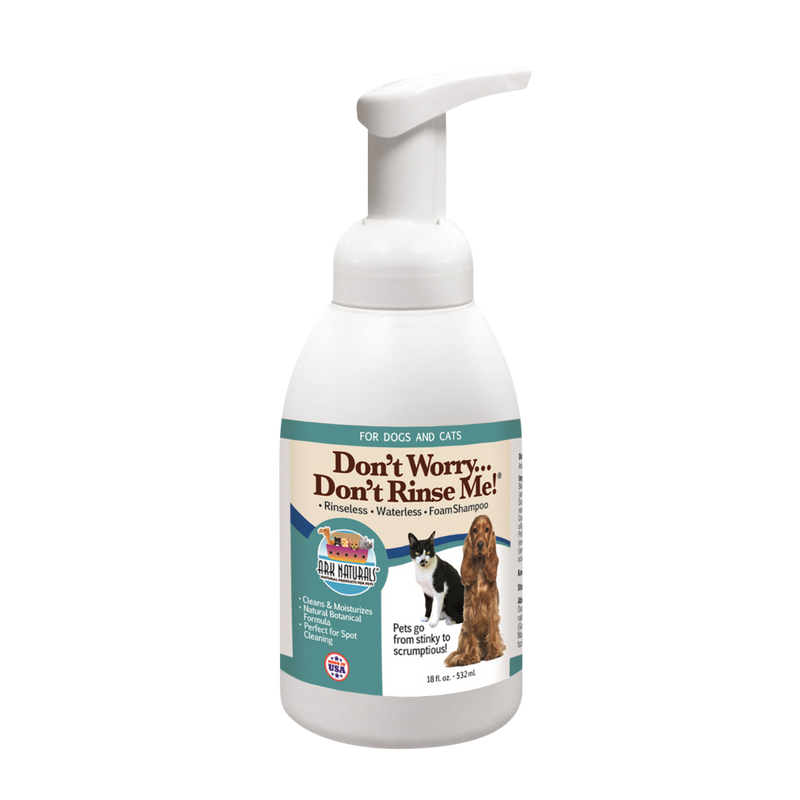 Ark Naturals Don't Worry Don't Rinse Me! Foam Shampoo