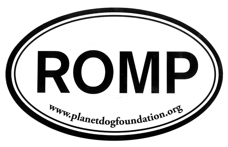 Planet Dog  Euro Sticker - ROMP