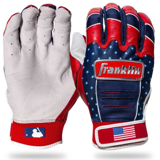 FRANKLIN LIMITED EDITION FOURTH OF JULY BATTING GLOVES