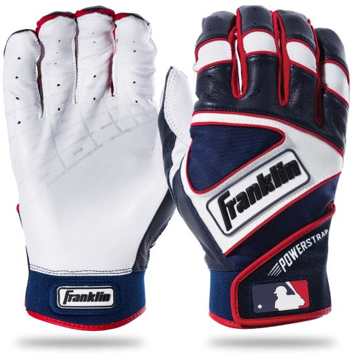 FRANKLIN POWERSTRAP BATTING GLOVES