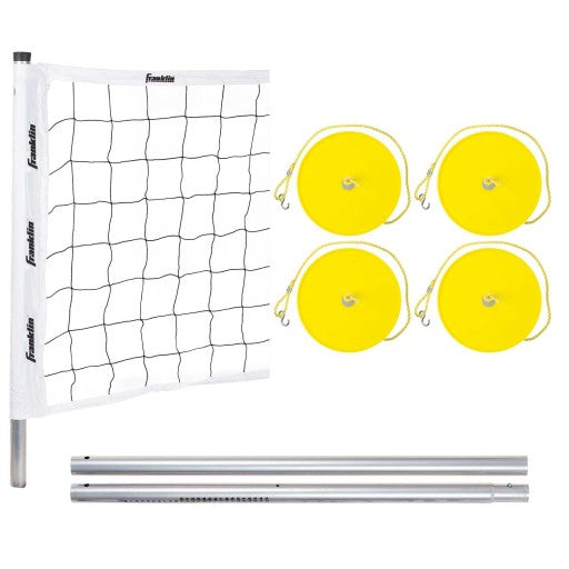 FRANKLIN PROFESSIONAL SERIES STEEL POLE VOLLEYBALL SYSTEM