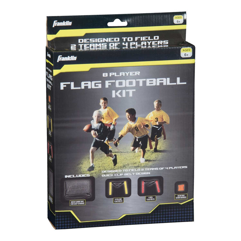 Franklin 8 PLAYER YOUTH FLAG FOOTBALL SET