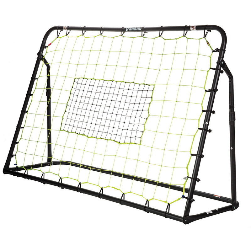 Franklin ADJUSTABLE SOCCER REBOUNDER WITH STAKES - HEAVY DUTY STEEL - 6' X 4'