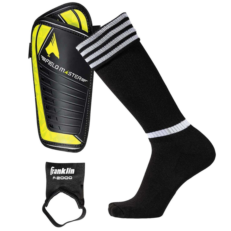 Franklin COMPLETE SOCCER SOCKS & SHIN GUARD PACK