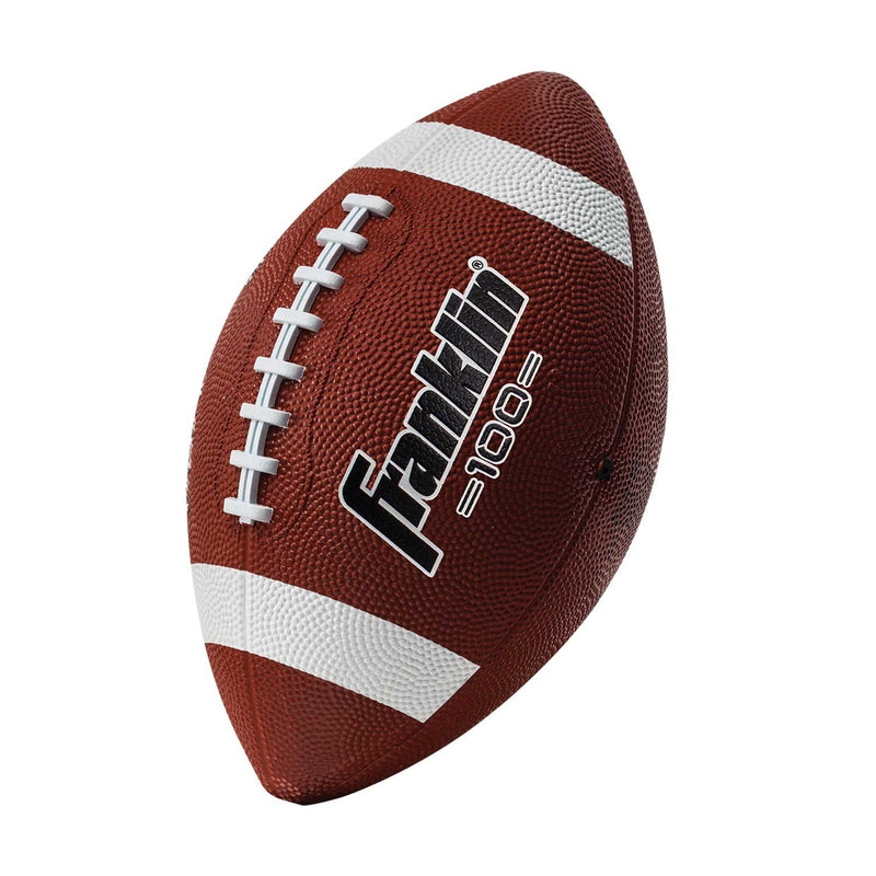 Franklin GRIP-RITE 100 JUNIOR RUBBER FOOTBALL