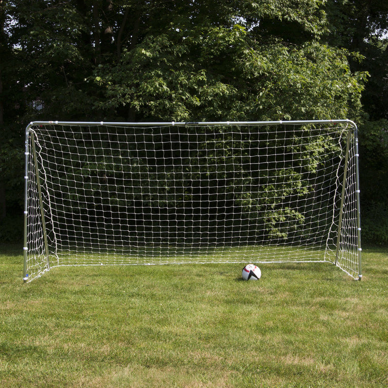 Franklin PREMIER STEEL SOCCER GOAL - STAKES INCLUDED - 12' X 6'