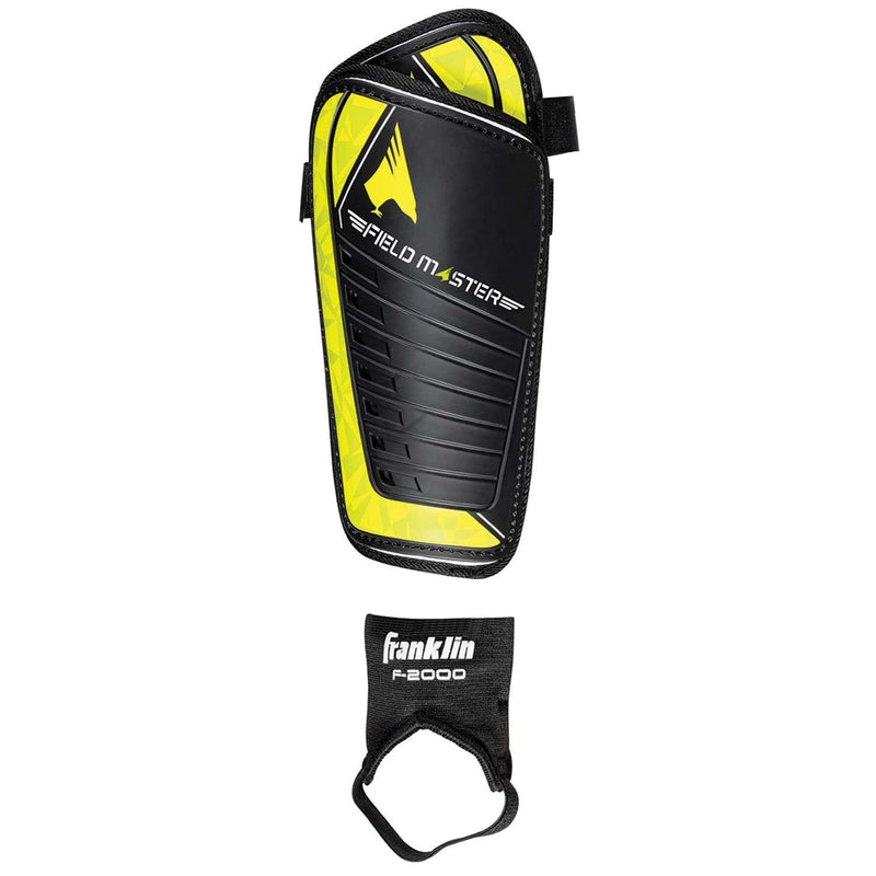 Franklin SOCCER SHIN GUARD WITH DETACHABLE ANKLE GUARD