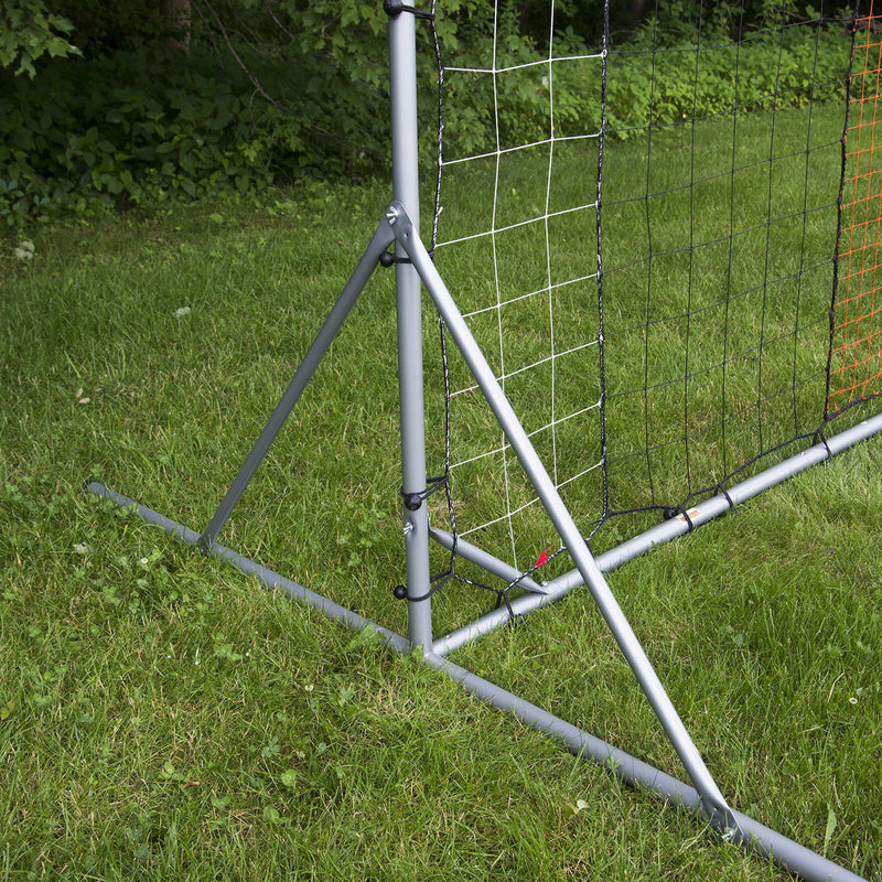 Franklin STEEL SOCCER REBOUNDER WITH GROUND STAKES - 12' X 6'