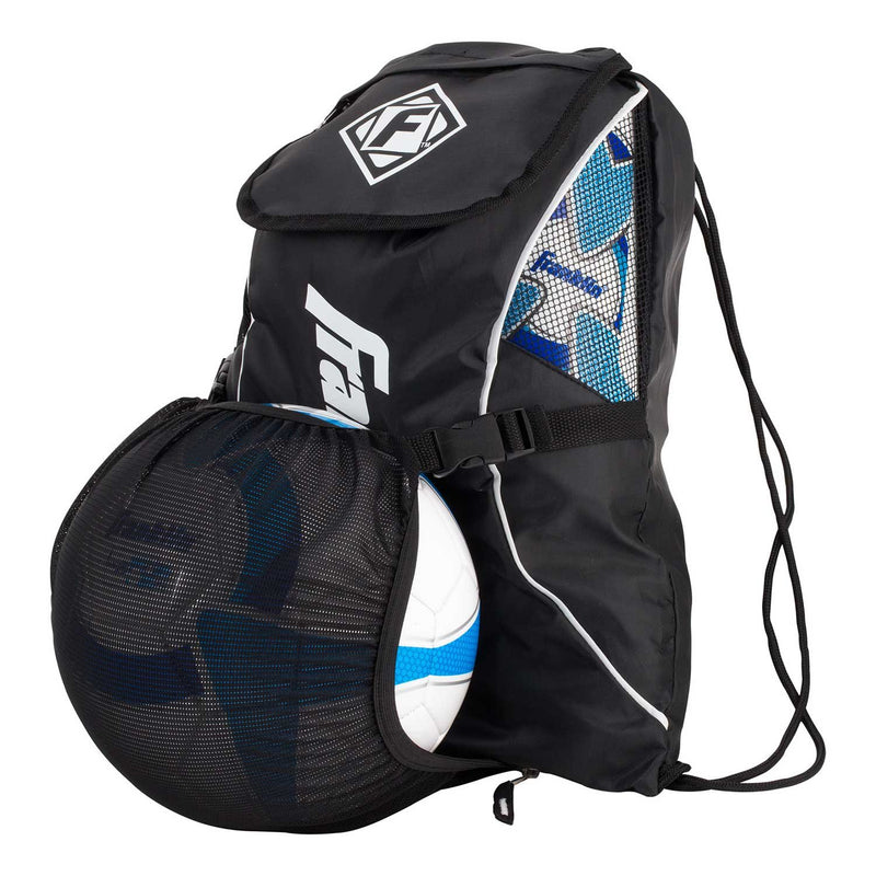 Franklin YOUTH SOCCER BALL BACKPACK - BLACK
