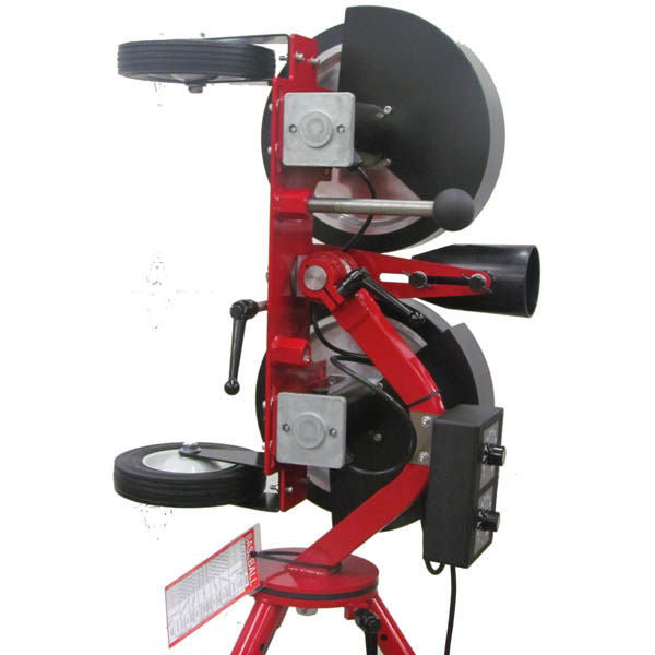 Rawlings Spin Ball Pro 2 Wheel Adjustable Combination Pitching Machine - ARP, Baseball, Softball
