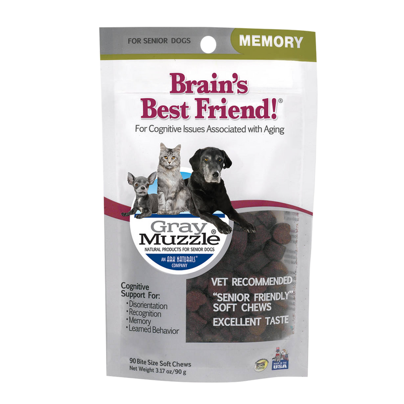 Ark Naturals Gray Muzzle Brain's Best Friend!