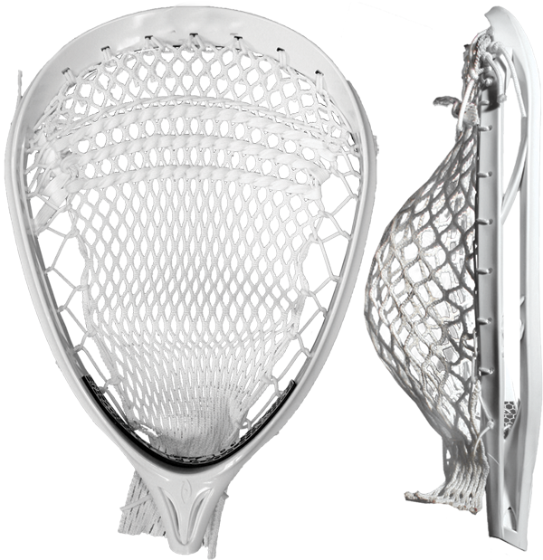 Harrow BARRICADE PRO LACROSSE GOALIE HEAD STRUNG