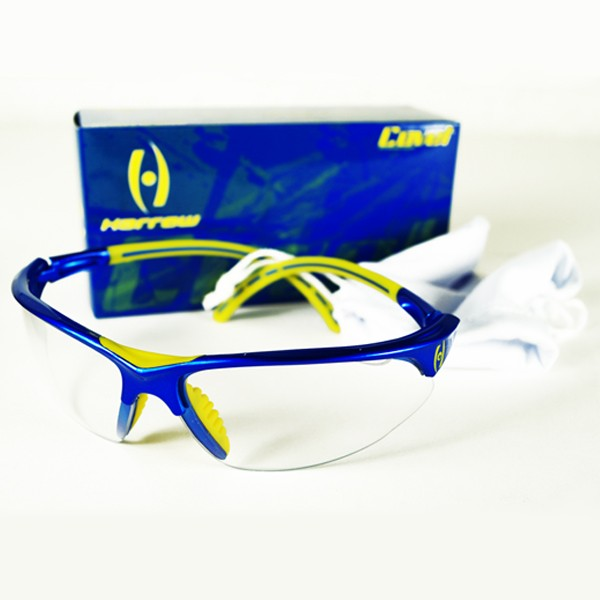 Harrow Covet Eye Guard Metallic Blue Yellow