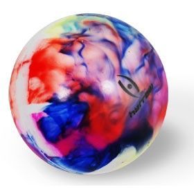 Harrow Field Hockey Ball Smooth 1 Piece Blister Pack multi-colored