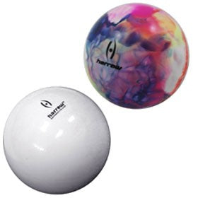 Harrow Field Hockey Ball Smooth 2 Piece Blister Pack White Multicolored
