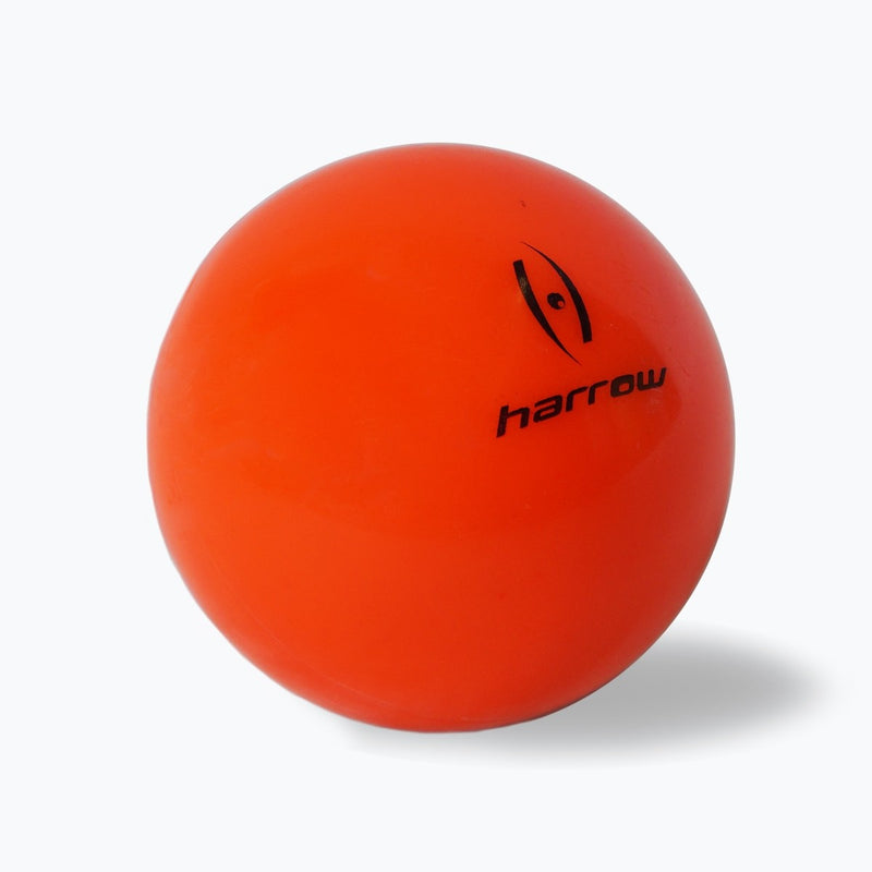 Harrow Field Hockey Ball Smooth Orange