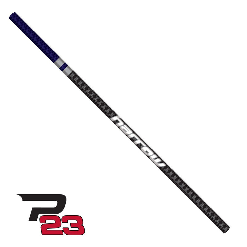 Harrow  P23 Ultralight Straight Lacrosse Shaft Purple Black