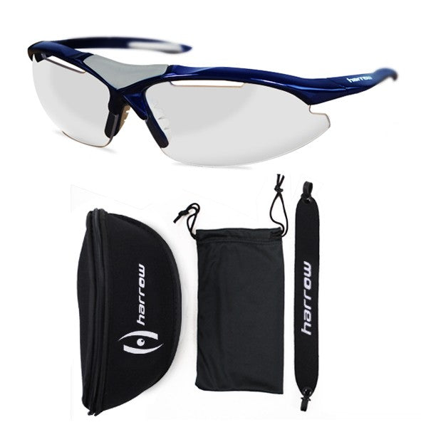 Harrow Radar Squash Eye Guard Navy