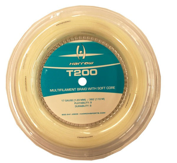 Harrow T200 Squash String, 360' Reel