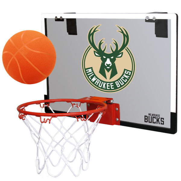 Rawlings NBA Milwaukee Bucks Hoop Set